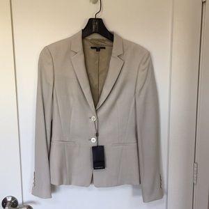 Hugo Boss Tan Wool Blazer US 4